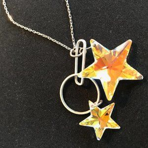 Swarovski Elements Star Pendant